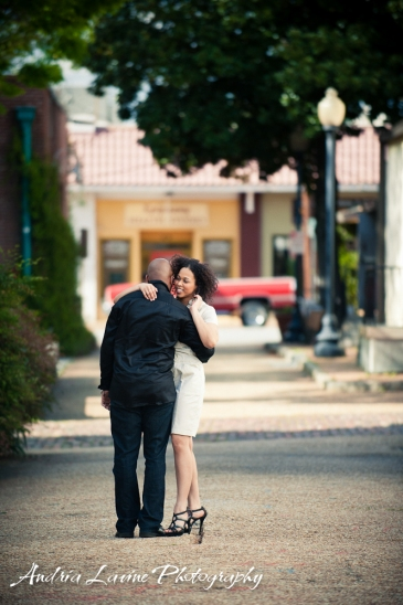 Andria Lavine Photography_Atlanta Wedding Photography_Marietta Square Engagement