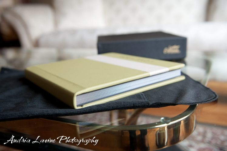 Andria Lavine Photography_Atlanta Wedding Photography_Leather Craftsmen Handmade Custom Wedding Album 2 photo