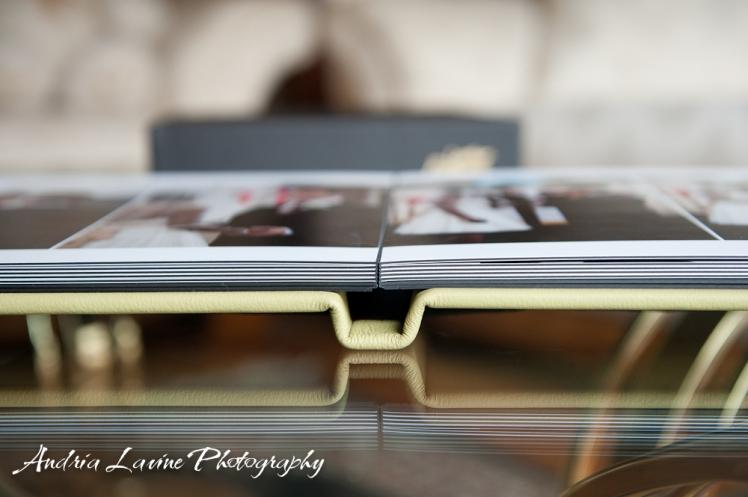 Andria Lavine Photography_Atlanta Wedding Photography_Leather Craftsmen Handmade Custom Wedding Album 3 photo