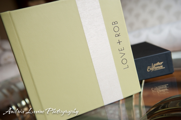 Andria Lavine Photography_Atlanta Wedding Photography_Leather Craftsmen Handmade Custom Wedding Album 4 photo