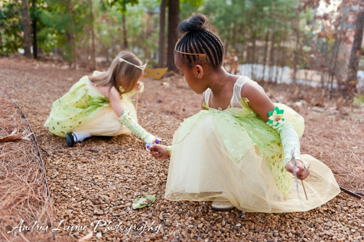 Andria Lavine Photography_Atlanta Wedding and Portrait Photography_Disney Princesses in Fern Gully photos